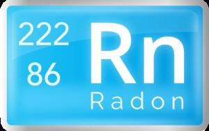 Radon gas - atomic weight and mass